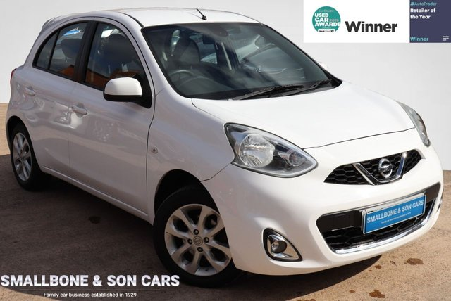 USED 2015 65 NISSAN MICRA 1.2 ACENTA 5d 79 BHP * BUY ONLINE * FREE NATIONWIDE DELIVERY *