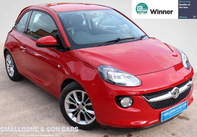 USED 2014 64 VAUXHALL ADAM 1.2 JAM 3d 69 BHP * BUY ONLINE * FREE NATIONWIDE DELIVERY *