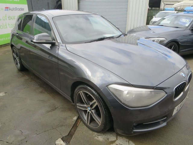 2012 L BMW 1 SERIES 1.6 116I SPORT 5d 135 BHP