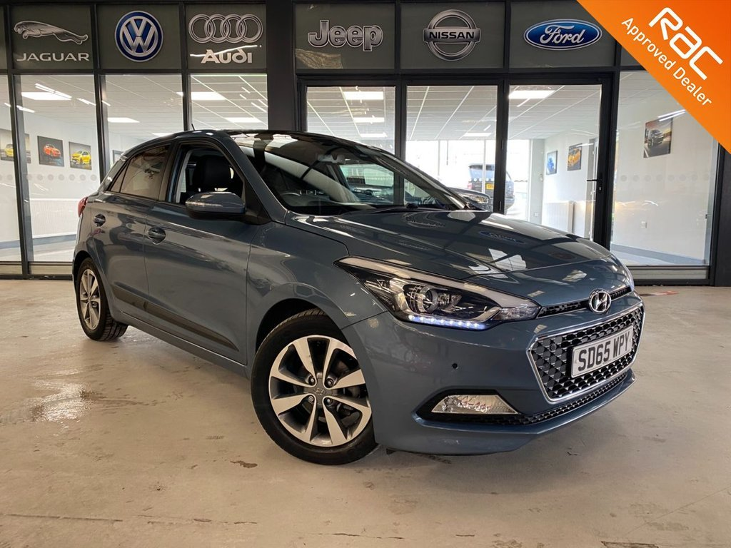 USED 2015 65 HYUNDAI I20 1.4 GDI PREMIUM SE 5d 99 BHP Complementary 12 Months RAC Warranty and 12 Months RAC Breakdown Cover Also Receive a Full MOT With All Advisory Work Completed, Fresh Engine Service and RAC Multipoint Check Before Collection/Delivery