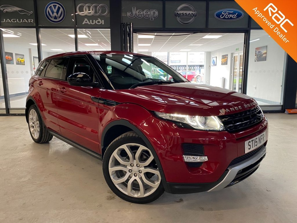USED 2015 15 LAND ROVER RANGE ROVER EVOQUE 2.2 SD4 DYNAMIC 5d 190 BHP Complementary 12 Months RAC Warranty and 12 Months RAC Breakdown Cover Also Receive a Full MOT With All Advisory Work Completed, Fresh Engine Service and RAC Multipoint Check Before Collection/Delivery