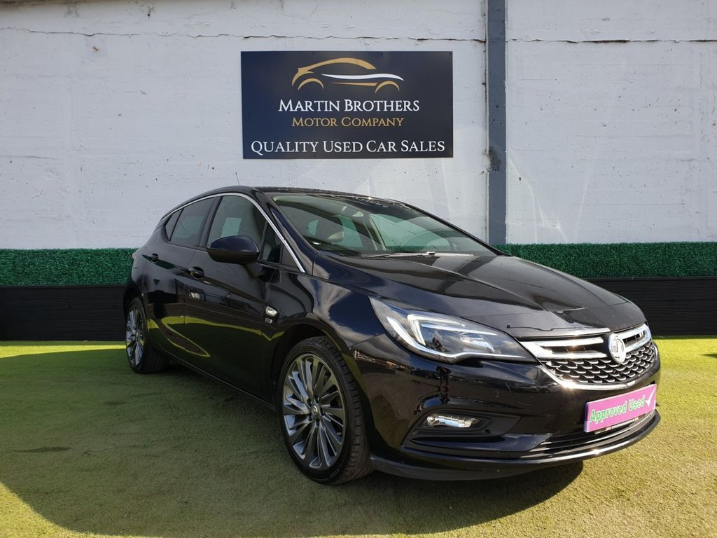 USED 2019 19 VAUXHALL ASTRA 1.6 GRIFFIN CDTI S/S 5d 135 BHP