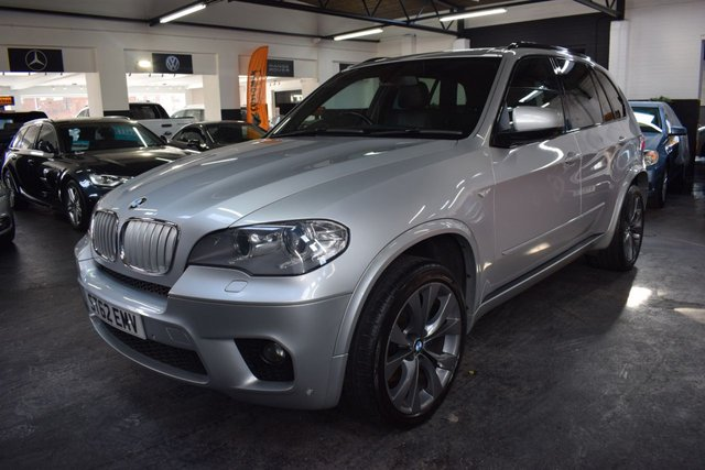 USED 2012 62 BMW X5 3.0 XDRIVE40D M SPORT 5d 302 BHP STUNNING LOW MILEAGE EXAMPLE - 7 STAMPS TO 65K - 40D M SPORT - LEATHER - MEMORY SEATS - PRIVACY GLASS - FRONT AND REAR PDC