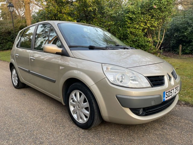 USED 2007 57 RENAULT SCENIC 1.6 DYNAMIQUE VVT 5d 111 BHP
