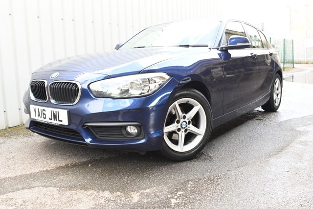 USED 2016 16 BMW 1 SERIES 1.5 116D ED PLUS 5d 114 BHP Efficient Dynamics, Free Tax