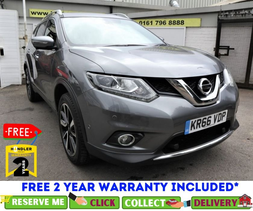 USED 2016 66 NISSAN X-TRAIL 1.6 DCI TEKNA XTRONIC 5d AUTO 130 BHP *CLICK & COLLECT OR DELIVERY