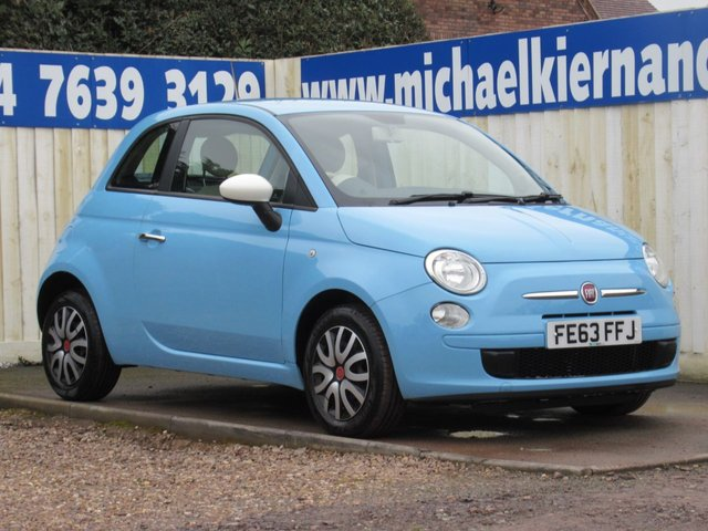 USED 2013 63 FIAT 500 1.2 COLOUR THERAPY 3d 69 BHP LOVELY COLOUR COOMBO