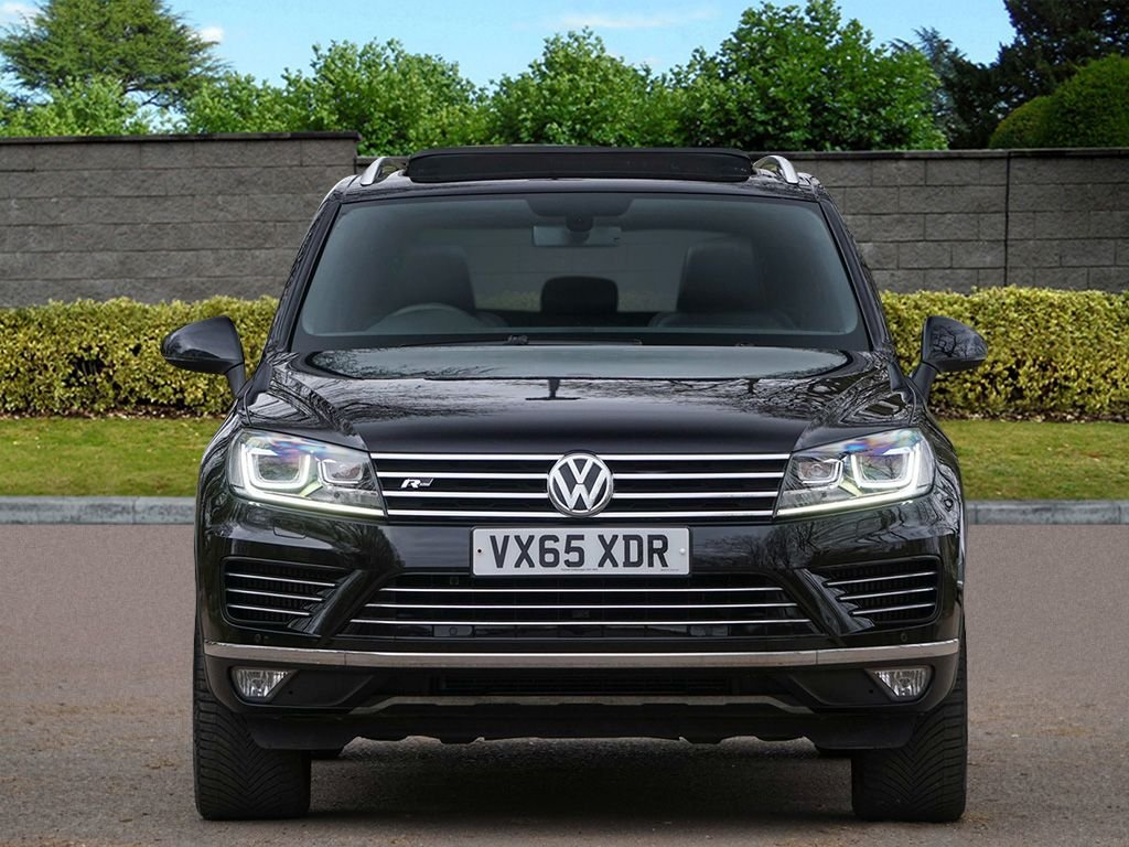 USED 2015 65 VOLKSWAGEN TOUAREG 3.0 V6 R-LINE TDI BLUEMOTION TECHNOLOGY 5d 259 BHP