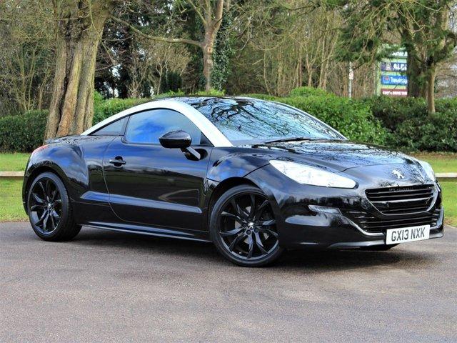 USED 2013 13 PEUGEOT RCZ 1.6 THP GT 2d 156 BHP £133 PCM With £749 Deposit