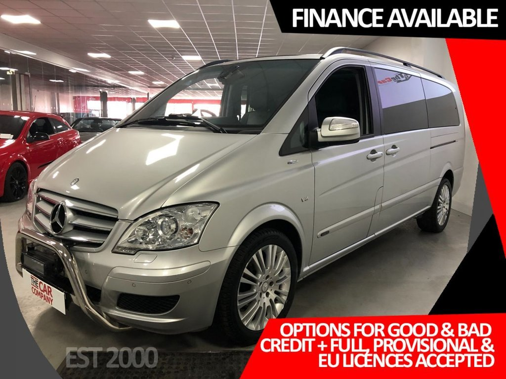 USED 2010 60 MERCEDES-BENZ VIANO 3.0 122 CDI BLUEEFFICENCY AMBIENTE 5d 224 BHP * NAVIGATION * PAN ROOF * 2 KEYS * MOT FEB 2022 * 8 SEATS *  PRIVACY GLASS *