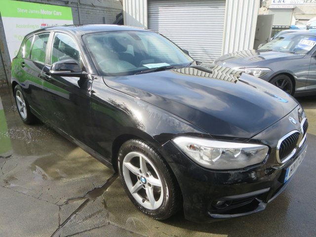 2017 17 BMW 1 SERIES 1.5 116D ED PLUS 5d 114 BHP