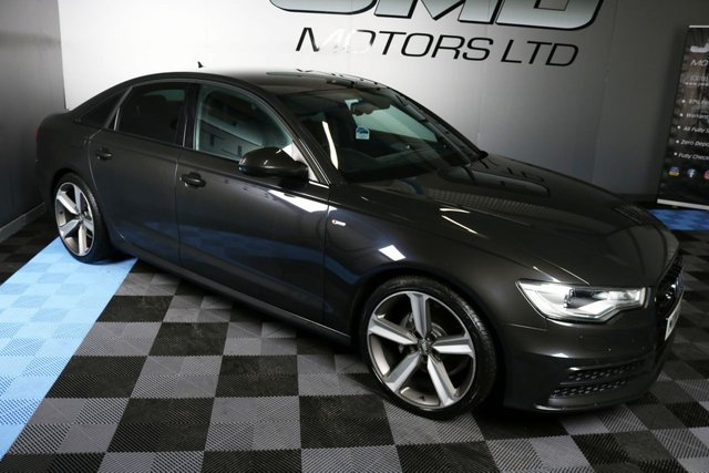 USED 2014 14 AUDI A6 2014 AUDI A6 2.0 TDI S LINE BLACK EDITION STYLE 188 BHP (FINANCE AND WARRANTY)