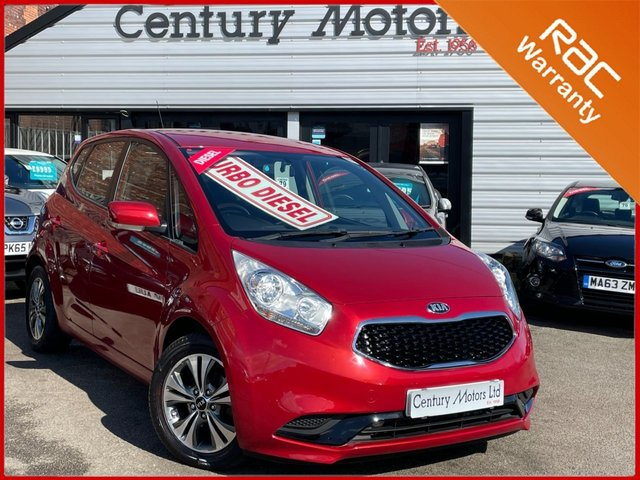 2016 16 KIA VENGA 1.4 CRDI 2 5dr - 72.4 MPG + UPGRADE ALLOYS