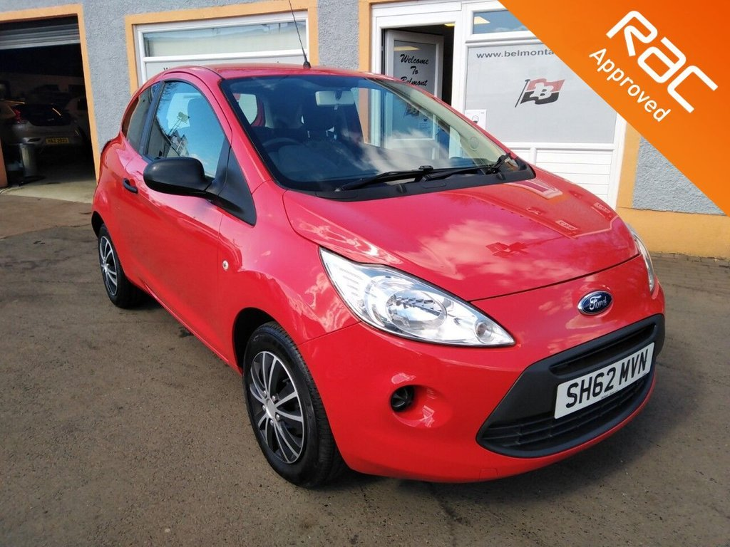 USED 2012 62 FORD KA 1.2 Studio 3dr [Start Stop] CD Player, Trip Computer, Grey/White Contrast Trim