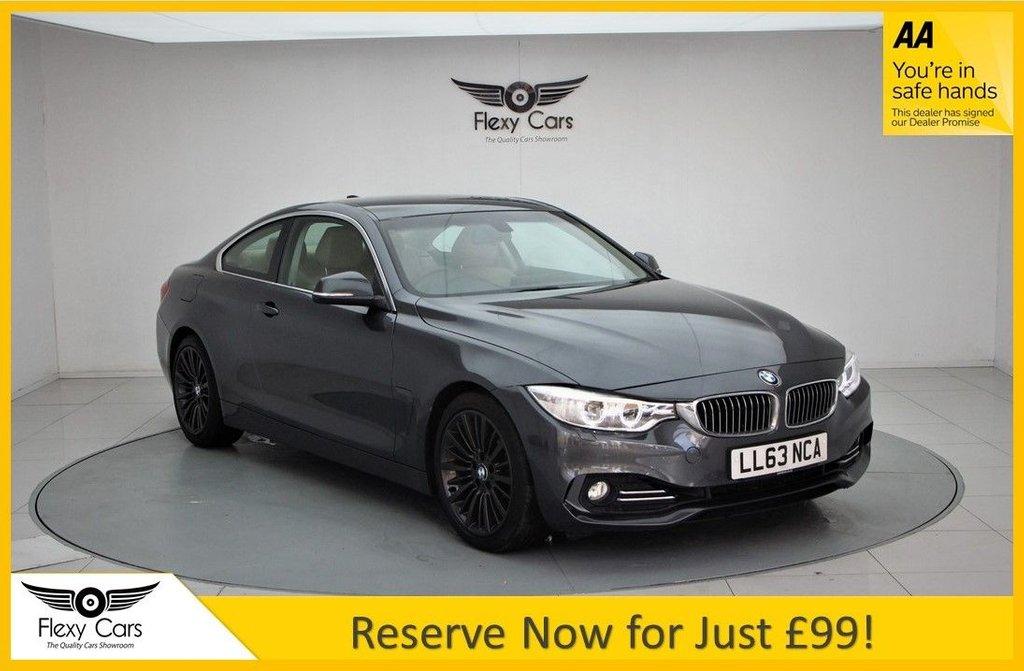 USED 2013 63 BMW 4 SERIES 2.0 428I LUXURY 2d 242 BHP