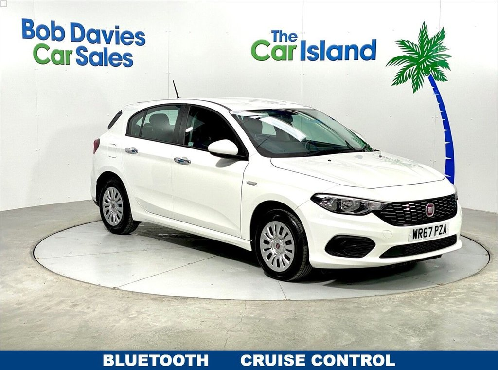USED 2017 67 FIAT TIPO 1.4 EASY 5d 94 BHP Bluetooth DAB Radio Cruise Control 25000 miles Full SH