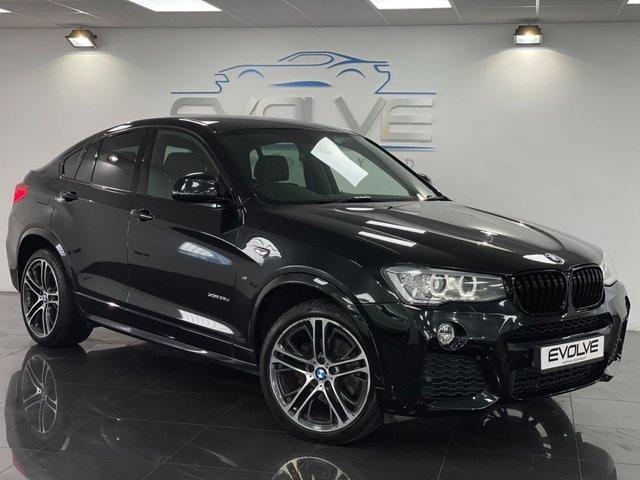 2017 17 BMW X4 3.0 XDRIVE35D M SPORT 4d 309 BHP