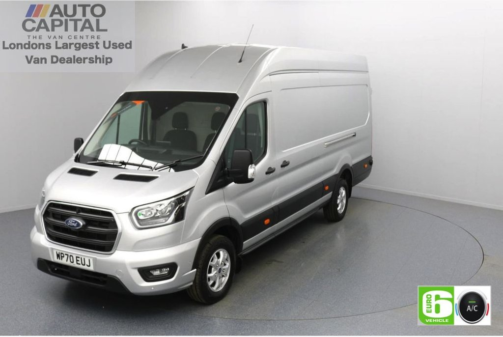 USED 2020 70 FORD TRANSIT 2.0 350 RWD Limited EcoBlue 185 BHP L4 H3 Low Emission Eco Mode | Auto Start-Stop | Front and rear parking distance sensors | Alloy wheels