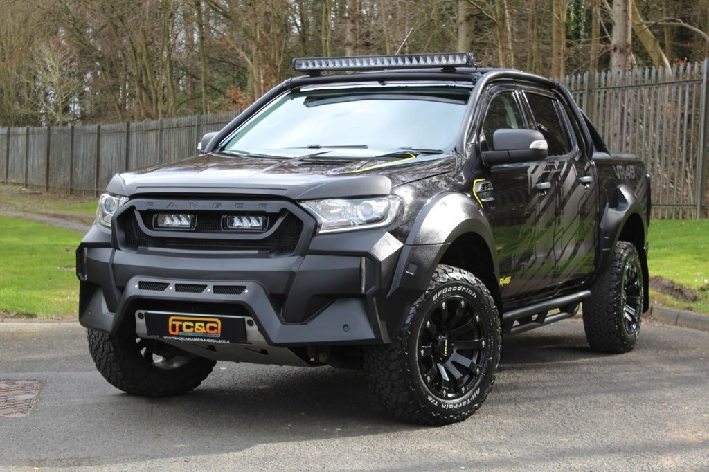 USED 2017 67 FORD RANGER 3.2 M SPORT VR46 4X4 DCB TDCI 4d 197 BHP MS-RT A VERY RARE AND STUNNING M SPORT VR46 FORD RANGER WITH LOW MILES AND ONLY 1 OWNER, MS-RT !!!