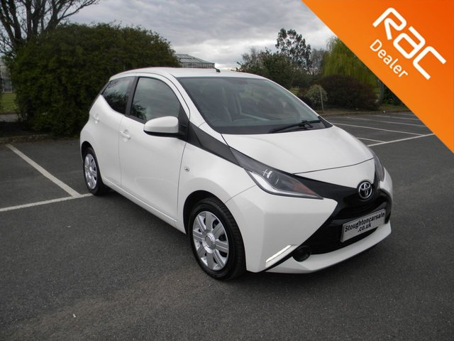 USED 2018 18 TOYOTA AYGO 1.0 VVT-I X-PLAY 5d 69 BHP BY APPOINTMENT ONLY - Still Under Toyota Warranty!, DAB, Bluetooth, Air Con, Cruise Control, Reversing Camera, Alloys, Touch Screen Display