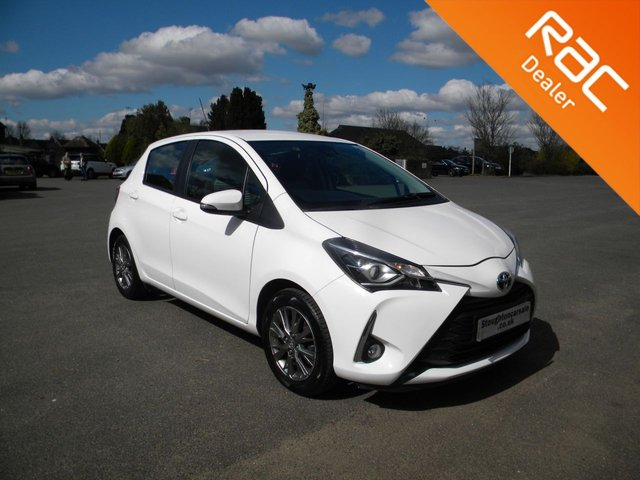 USED 2018 18 TOYOTA YARIS 1.0 VVT-I ICON 5d 69 BHP BY APPOINTMENT ONLY - Still Under Toyota Warranty!, DAB, Bluetooth, Air Con, Cruise Control, Reversing Camera, Alloys, Touch Screen Display