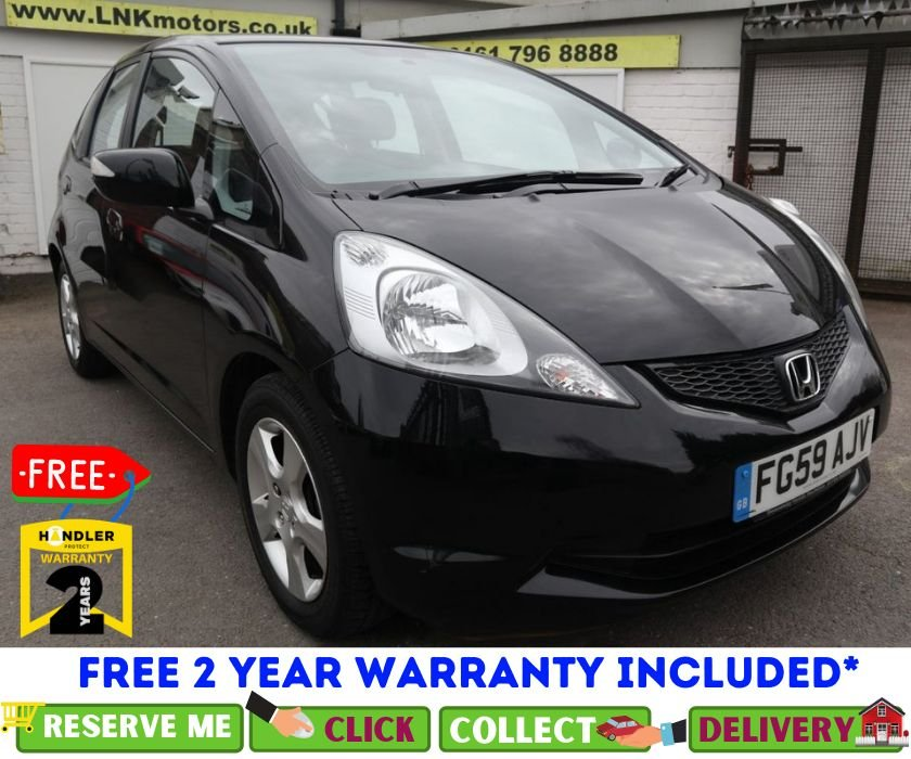 USED 2009 59 HONDA JAZZ 1.3 I-VTEC ES 5d 98 BHP *CLICK & COLLECT OR DELIVERY *
