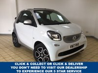 USED 2017 17 SMART FORTWO CABRIO 0.9 PRIME T 2d 2 Seat Petrol AUTO Great Colour Combo Convertible Perfect for the Summer Low Mileage Recent Service plus MOT now Ready to Finance and Drive Away The perfect City run around!