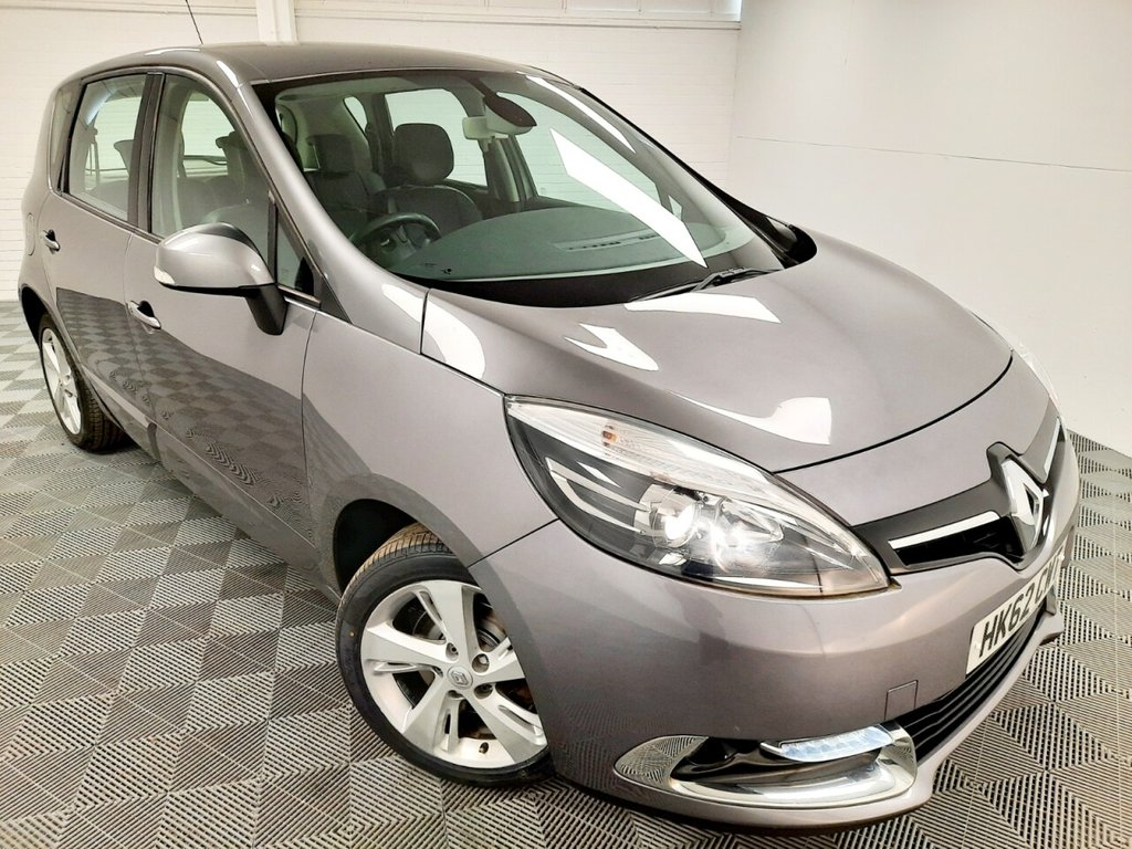 USED 2012 62 RENAULT SCENIC 1.6 DYNAMIQUE TOMTOM VVT 5d 110 BHP £98 a month, T&Cs apply.