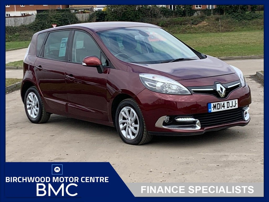 USED 2014 14 RENAULT SCENIC 1.5 DYNAMIQUE TOMTOM DCI EDC 5d 110 BHP. FULL SERVICE HISTORY AVAILABLE!!!