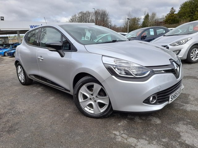 USED 2015 65 RENAULT CLIO 0.9 DYNAMIQUE NAV TCE 5d 89 BHP