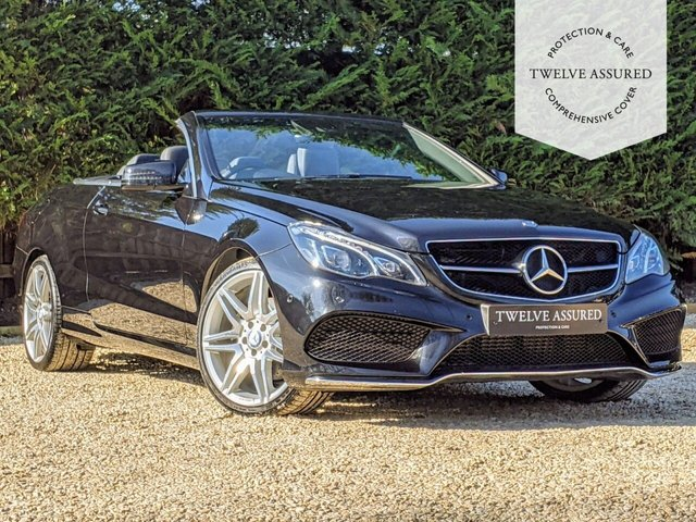 USED 2016 66 MERCEDES-BENZ E-CLASS 3.0 E 350 D AMG LINE EDITION 2d AUTO 255 BHP (1  OWNER)