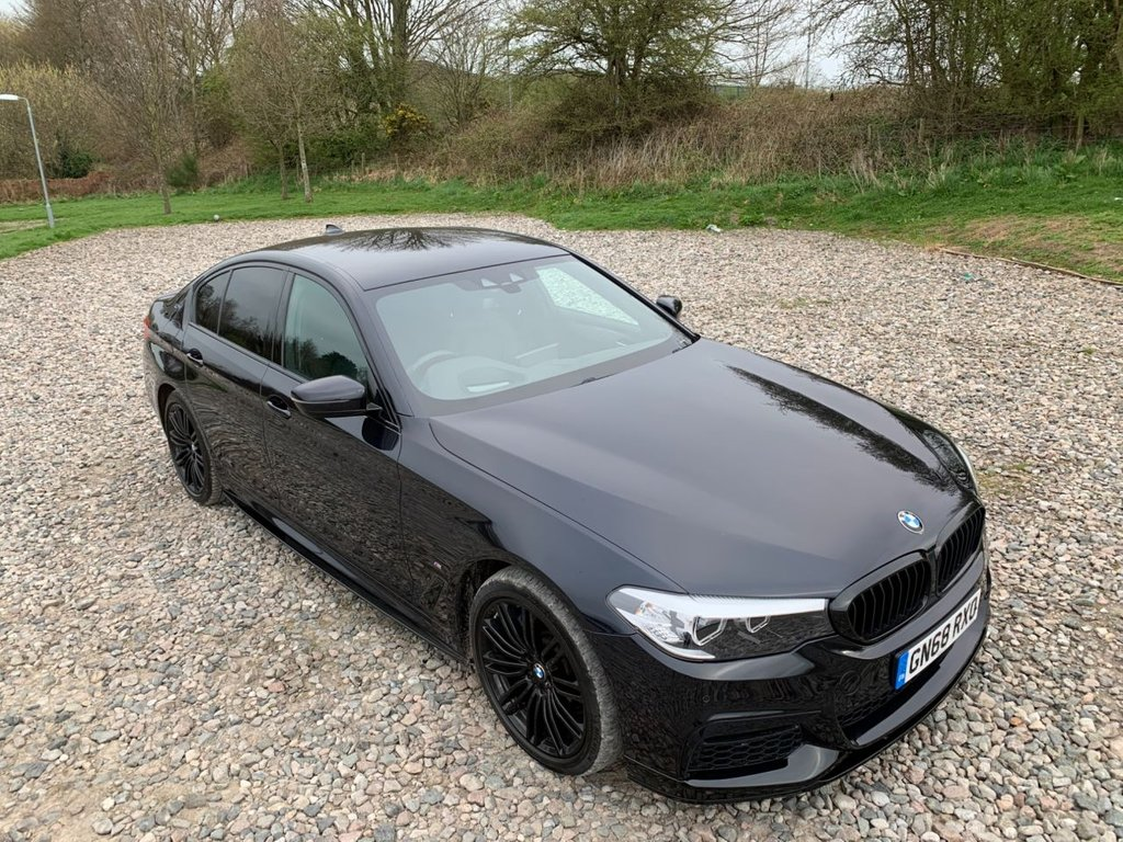 USED 2018 68 BMW 5 SERIES 2.0 530E M SPORT 4d 249 BHP Free Next Day Nationwide Delivery