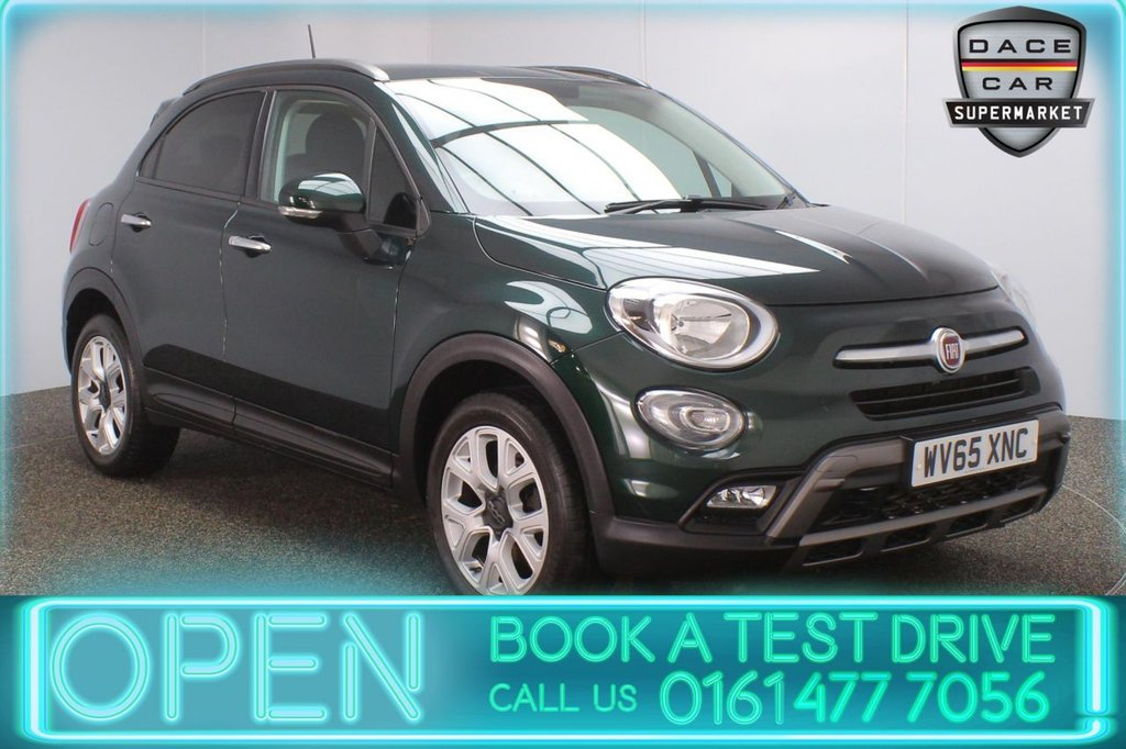 USED 2015 65 FIAT 500X 1.4 MULTIAIR CROSS 5DR 140 BHP PARKING SENSOR + BLUETOOTH + CRUISE CONTROL + CLIMATE CONTROL + MULTI FUNCTION WHEEL + AUX/USB PORTS + ELECTRIC WINDOWS + ELECTRIC DOOR MIRRORS + ALLOY WHEELS