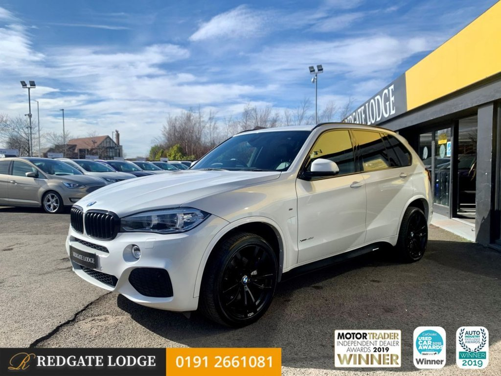 USED 2015 65 BMW X5 3.0 XDRIVE40D M SPORT 5d 309 BHP SAT/NAV, LEATHER, BLUETOOTH, SURROUND VIEW CAMERAS, HIGH BEAM ASSIST, TINTED GLASS...