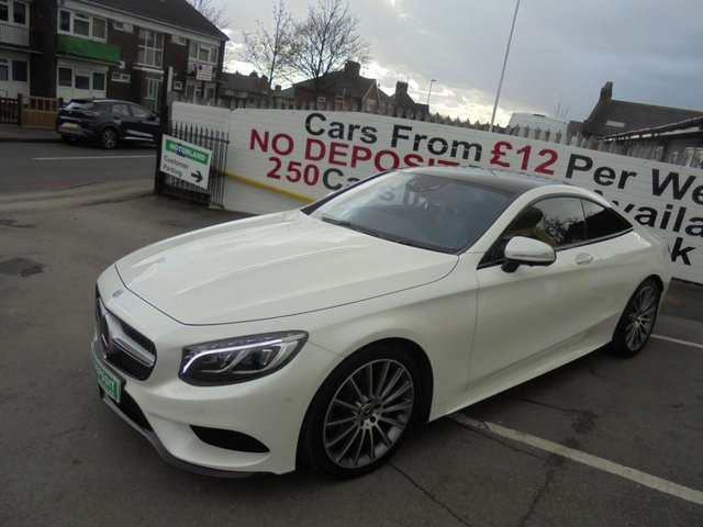 USED 2017 17 MERCEDES-BENZ S-CLASS 4.7 S500 AMG LINE PREMIUM 2d 450 BHP **BOOK YOUR TEST DRIVE NOW**