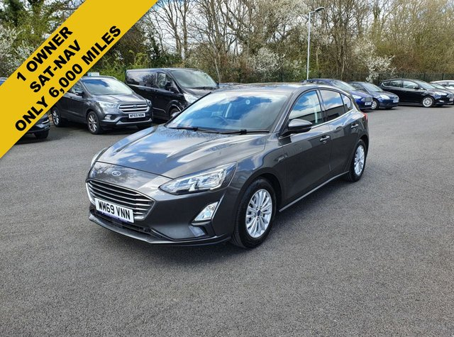 2020 69 FORD FOCUS 1.0 TITANIUM ECOBOOST 125 BHP NEW MODEL