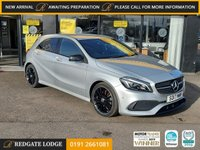 USED 2017 17 MERCEDES-BENZ A-CLASS 1.6 A 180 AMG LINE PREMIUM 5d 121 BHP *** ONLY 9,722 MILES ***