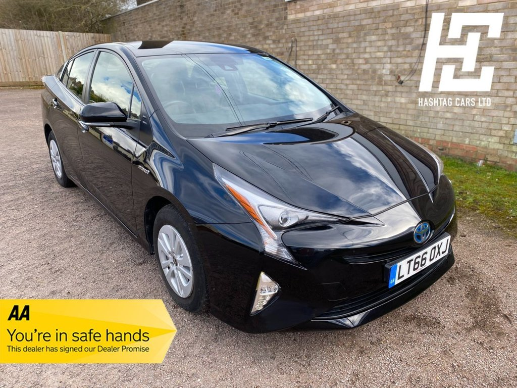 USED 2016 66 TOYOTA PRIUS 1.8 VVT-I ACTIVE 5d 97 BHP EURO 6 ULEZ/1 OWNER/GREAT SPEC/B/TOOTH+DAB+REAR CAMERA+AIRCON+USB