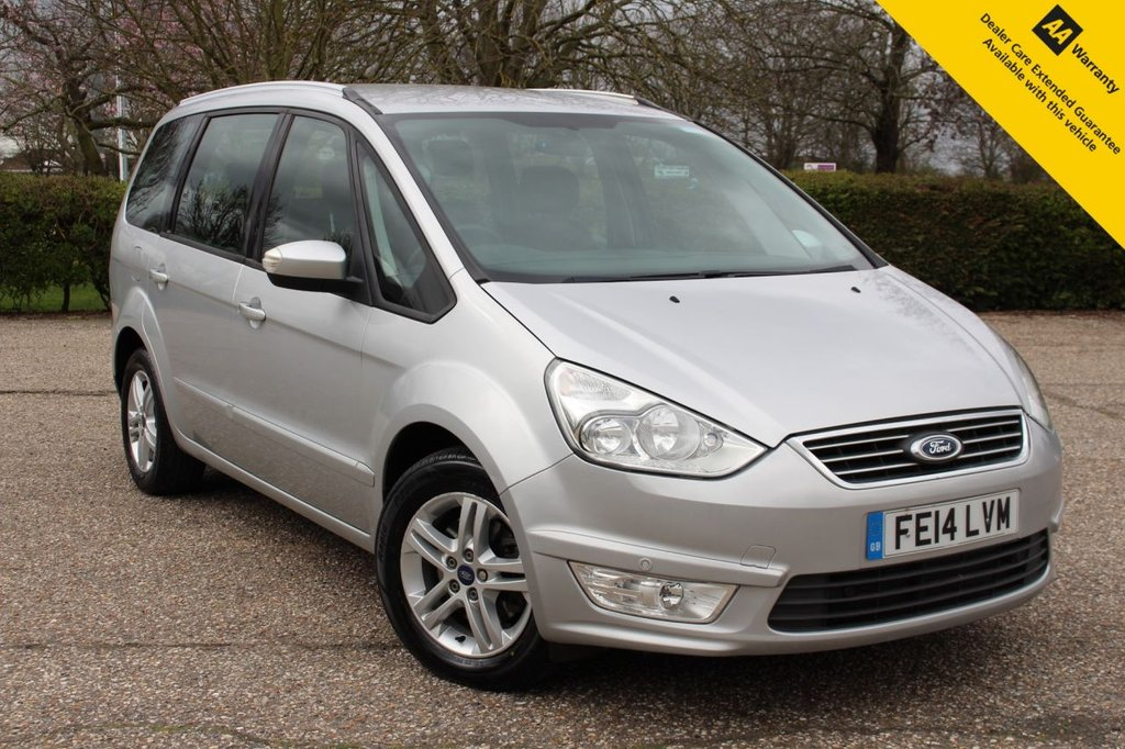 USED 2014 14 FORD GALAXY 2.0 ZETEC TDCI 5d 138 BHP ** SUPERB 7 SEATER AUTO ** FULL FORD MAIN DEALER SERVICE HISTORY ** BRAND NEW MOT - EXPIRY 23/03/2022 ** FRONT + REAR PARKING AID ** BLUETOOTH ** SPLIT REAR SEATS ** ISOFIX ** CLICK & COLLECT + NATIONWIDE DELIVERY AVAILABLE ** BUY ONLINE IN CONFIDENCE FROM A MULTI AWARD WINNING 5* RATED DEALER **