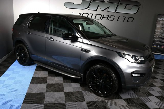 USED 2015 65 LAND ROVER DISCOVERY SPORT NOVEMBER 2015 LAND ROVER DISCOVERY SPORT 2.0 TD4 HSE BLACK EDITION STYLE 180 BHP ( FINANCE & WARRANTY)