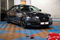 USED 2015 15 JAGUAR XF 2.2 D R-SPORT BLACK 4d 200 BHP Three Owners | Rare Model