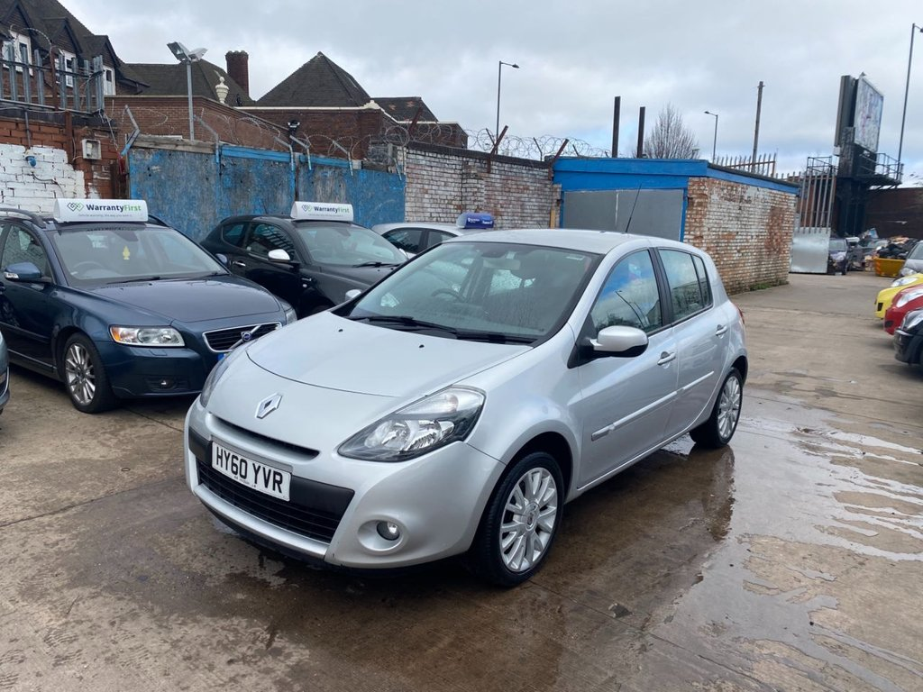 USED 2010 60 RENAULT CLIO 1.5 DYNAMIQUE TOMTOM DCI 5d 86 BHP
