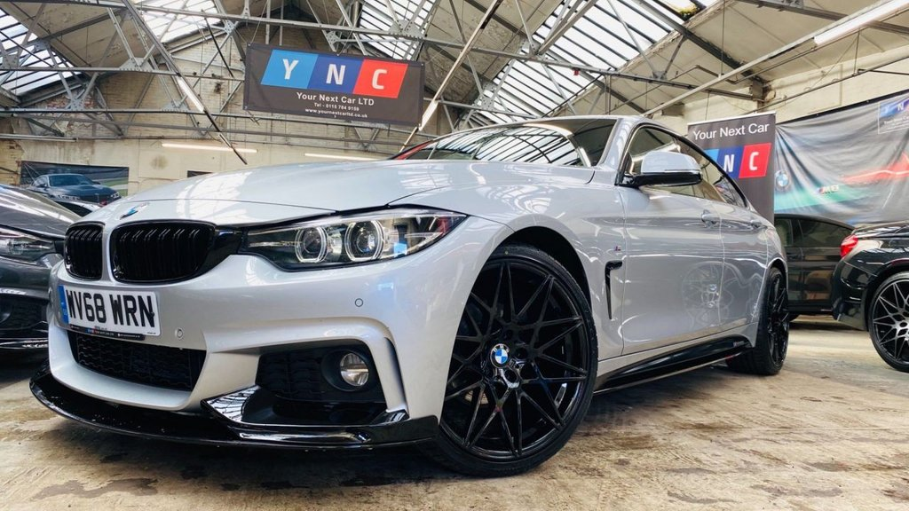 USED 2018 68 BMW 4 SERIES 2.0 420d M Sport Gran Coupe (s/s) 5dr PERFORMANCEKIT+20S+FACELIFT