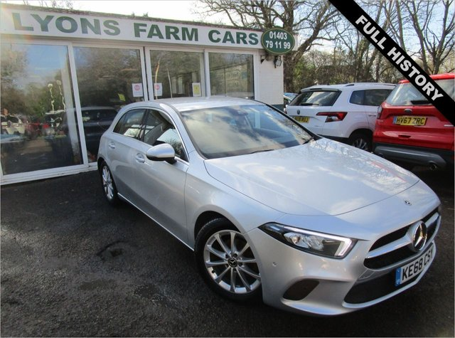 USED 2018 68 MERCEDES-BENZ A-CLASS 1.5 A 180 D SPORT EXECUTIVE 5d 114 BHP AUTOMATIC Full Service History, One Previous Owner, MOT until December 2021, Balance of Mercedes-Benz Warranty until December 2021, Automatic, Excellent fuel economy! Diesel