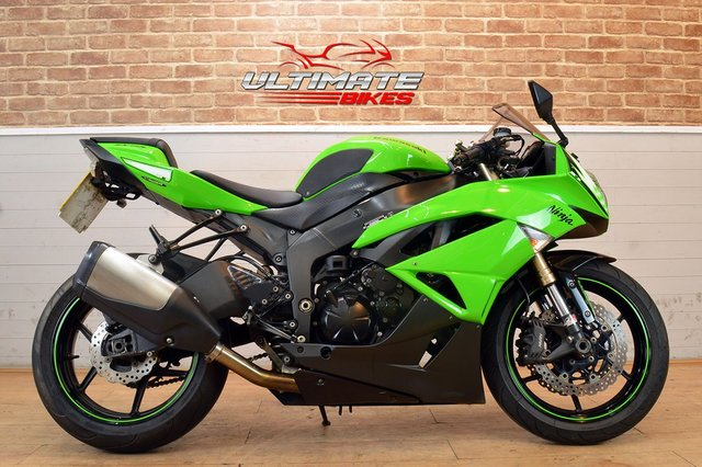 USED 2010 10 KAWASAKI ZX-6R  - FREE DELIVERY AVAILABLE