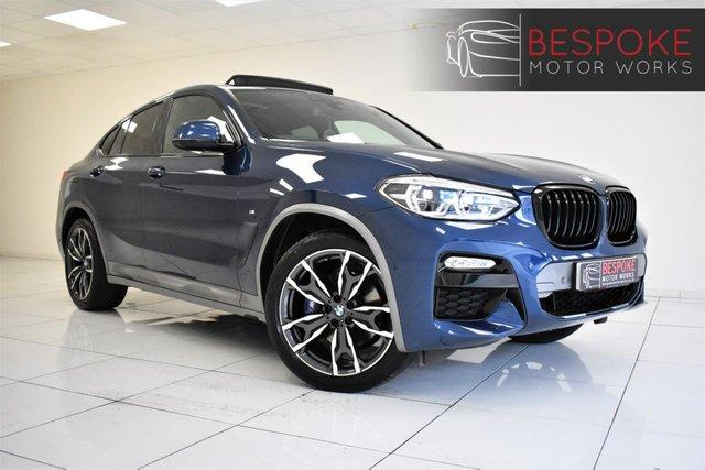 2018 18 BMW X4 XDRIVE20D M SPORT X