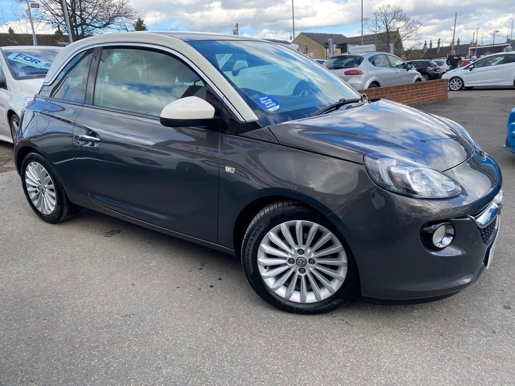 USED 2013 VAUXHALL ADAM 1.2i ecoFLEX Glam 3dr [Technical Pack] [SS]