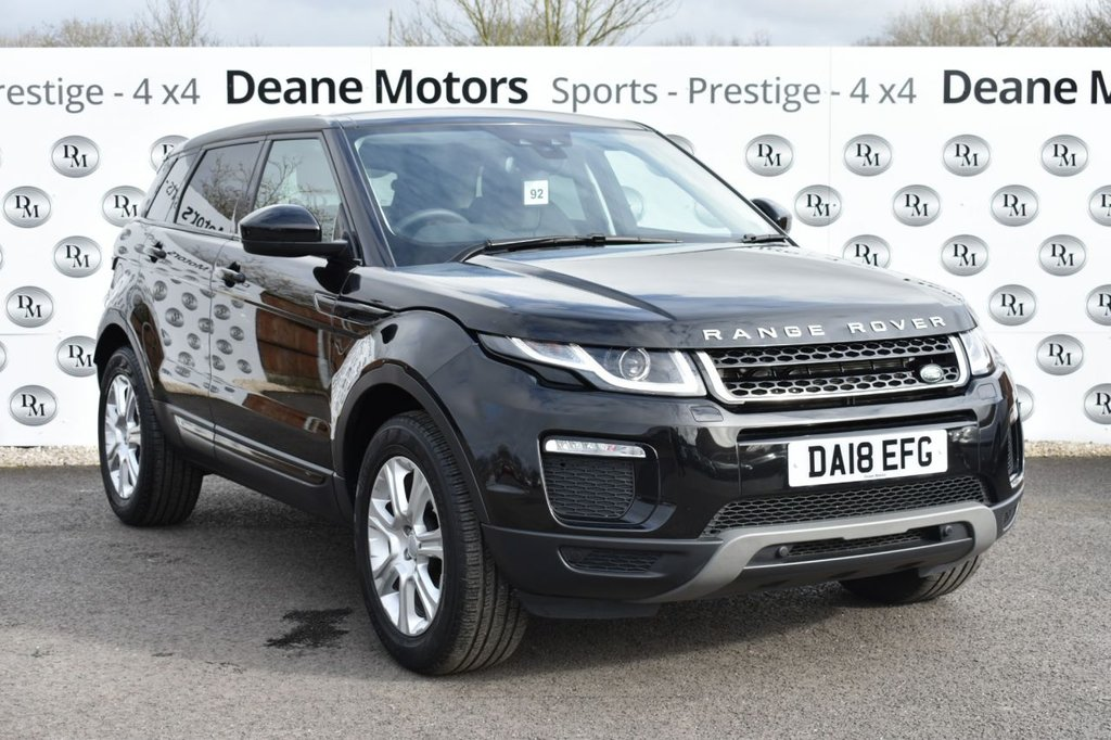 USED 2018 18 LAND ROVER RANGE ROVER EVOQUE 2.0 TD4 SE TECH 5d 177 BHP PANROOF