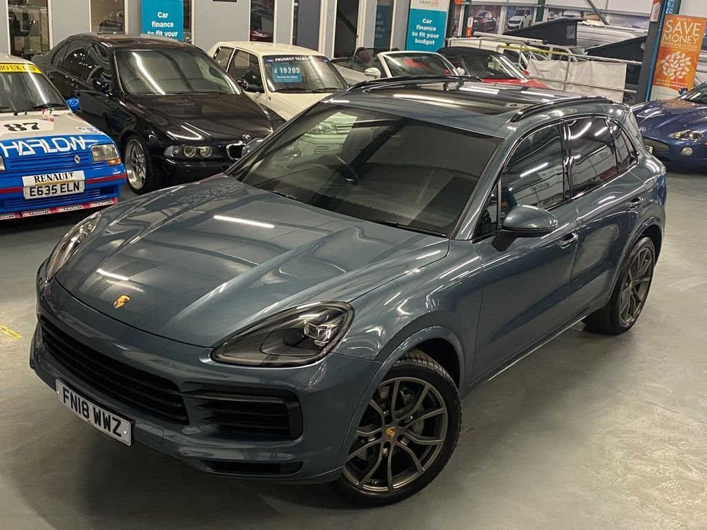USED 2018 18 PORSCHE CAYENNE 2.9T V6 S Tiptronic 4WD (s/s) 5dr Pan Roof + Bose Sound +
