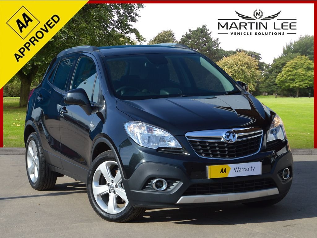 USED 2014 14 VAUXHALL MOKKA 1.7 TECH LINE CDTI S/S 5d 128 BHP FAMILY FAVOURITE DIESEL SUV WITH FULL MEDIA PACK